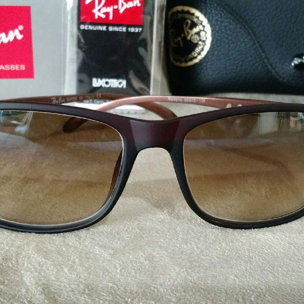 Culos de sol rayban modelo 4215 lentes de cristal marrom