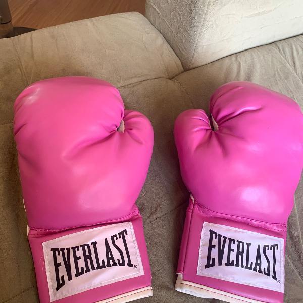 Luva de muay thai, boxe everlarst