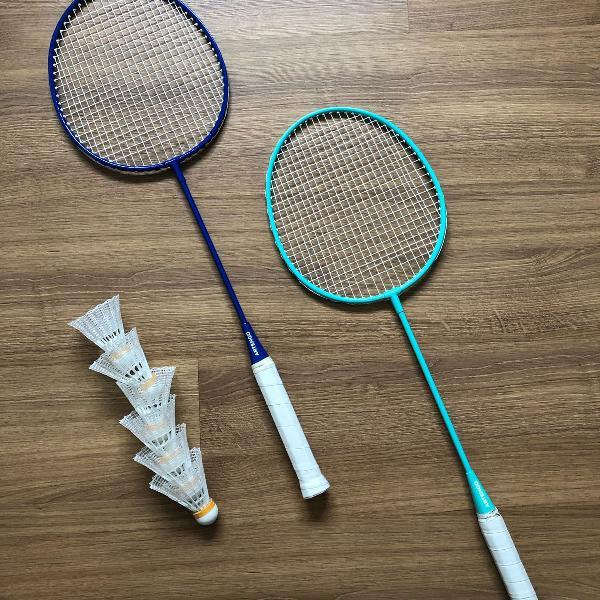 Raquetes de badminton