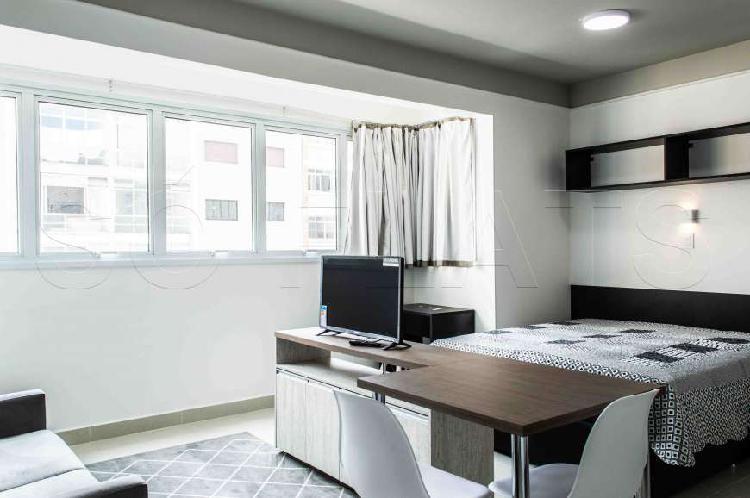 Apartamento novo tipo studio, na rua augusta, fácil acesso