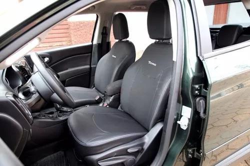 Capa banco de couro fiat toro 2018 freedom 2.0 diesel 4x4