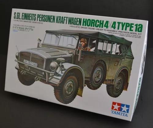 Carro tamiya german schwerer einheits-pkw horch 4x4 type 1a