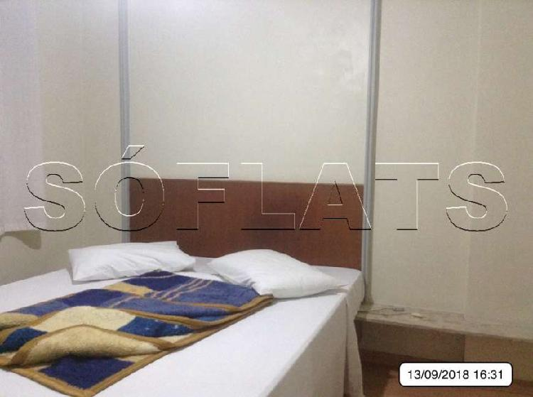Flat próximo a faculdade fmu - itaim bibi - residencial