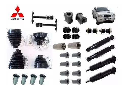 Kit suspensão l200 4x4 gl e gls 1995 à 2000 32 peças