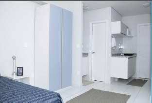 Kitnet de 22 m² em bairro Iguatemi já mobiliado e alugado