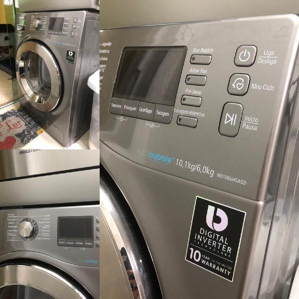 Máquina de lavar e secar roupas samsung