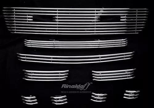 Sobre grades ford ranger 2009 2011 4x4 inox 304 9 peças