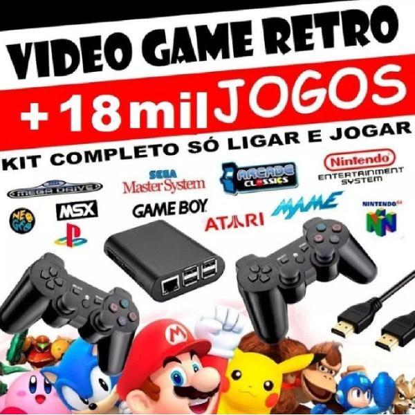 Vídeo game retro + de 18 mil jogos