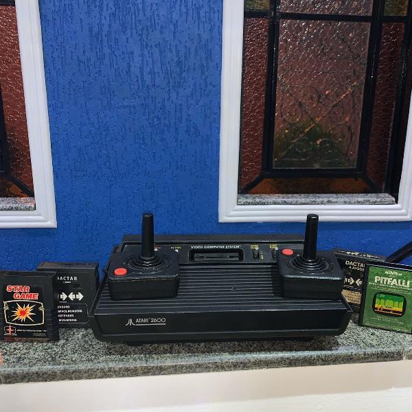 Atari, original mais 4 jogos