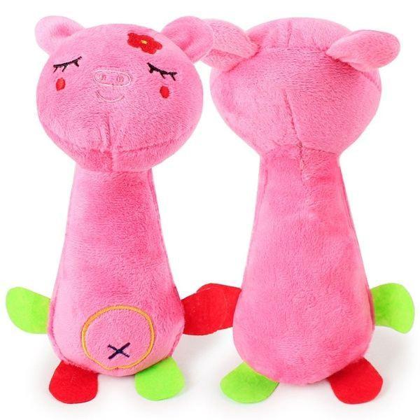 Brinquedos para pet cachorro gato mordedor pelúcia presente