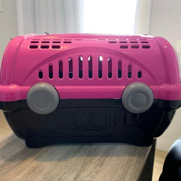 Caixa de transporte para bichinhos