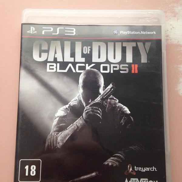 Call of duty black ops2 mídia física ps3 playstation 3