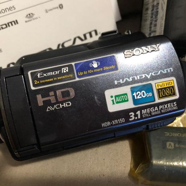 Câmera filmadora hdr sony