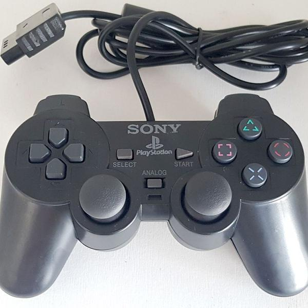 Controle ps2 playstation 2 dualshock 2