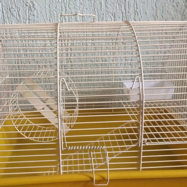 Gaiola 2 andares para hamster