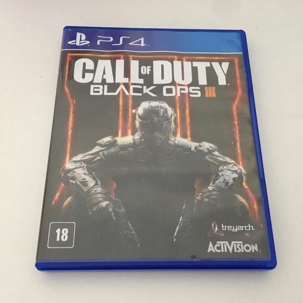Jogo call of duty: black ops iii ps4