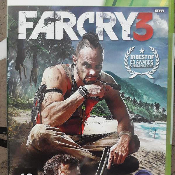 jogo farcry3 xbox 360 original usado