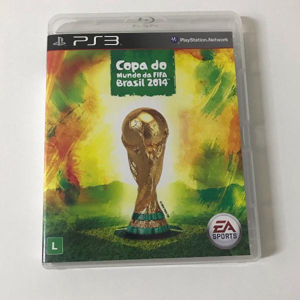 Jogo para ps3 copa do mundo fifa brasil 2014