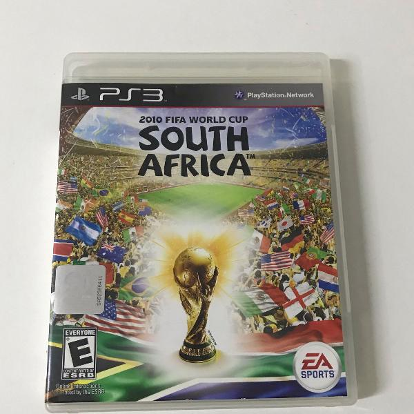 Jogo para ps3 copa do mundo fifa áfrica do sul 2010
