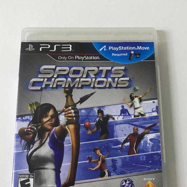 Jogo para ps3 sports champions