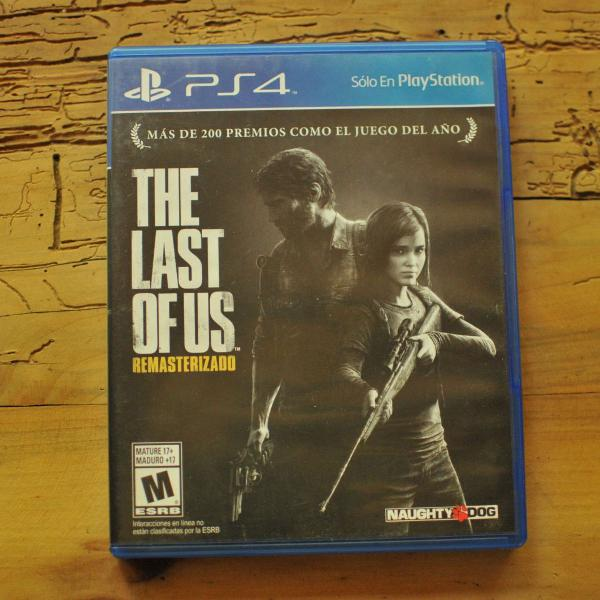 Jogo ps4 the last of us remasterizado