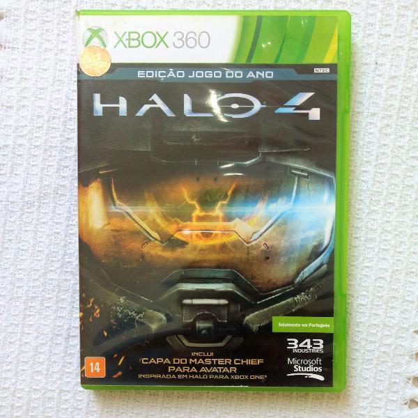 jogo xbox 360 - halo 4