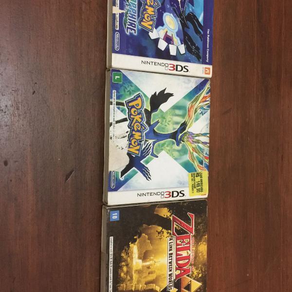 Kit de jogos para nintendo 3ds