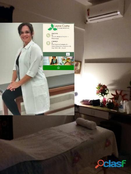Massoterapeuta profissional copacabana rio de janeiro