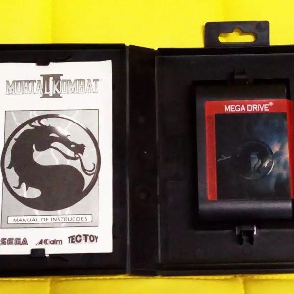 Mortal kombat 2 mega drive genesis original