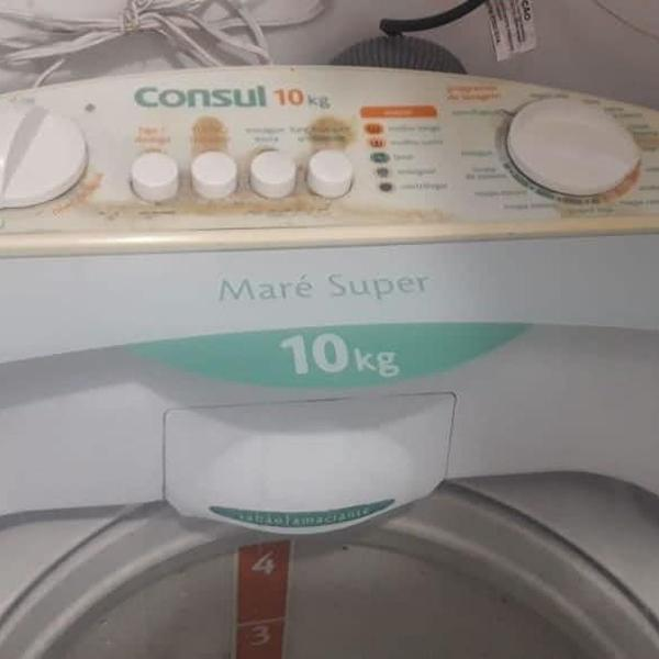 Máquina de lavar roupas consul 10kg