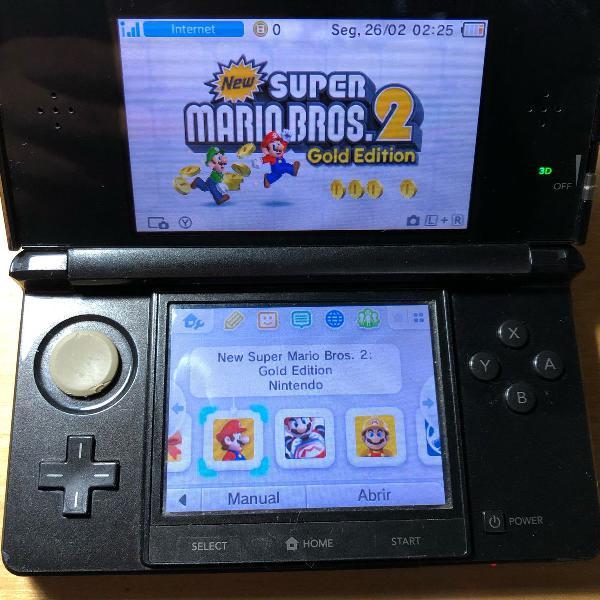Nintendo 3ds old desbloqueado