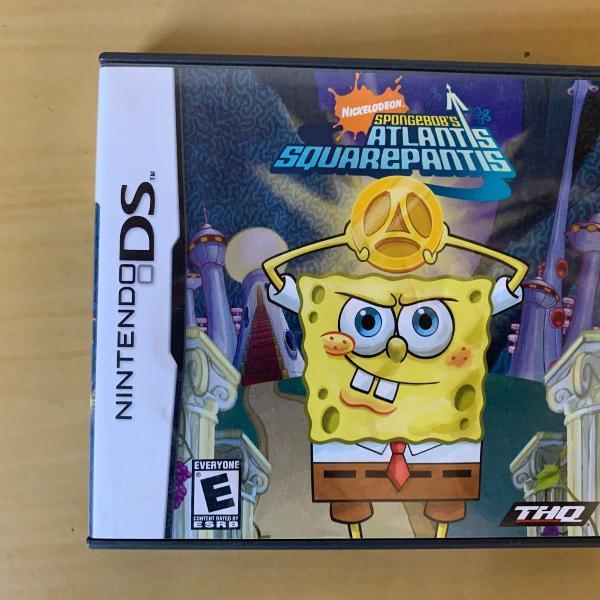 Nintendo ds - spongebob's atlantis squarepantis