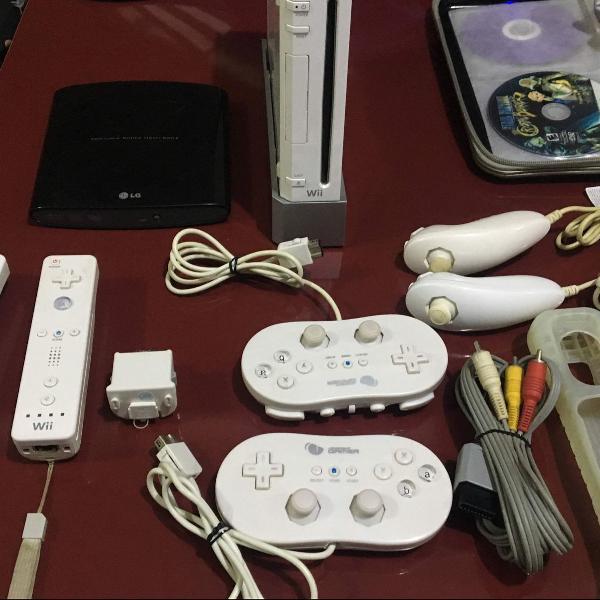 Nintendo wii com destravador