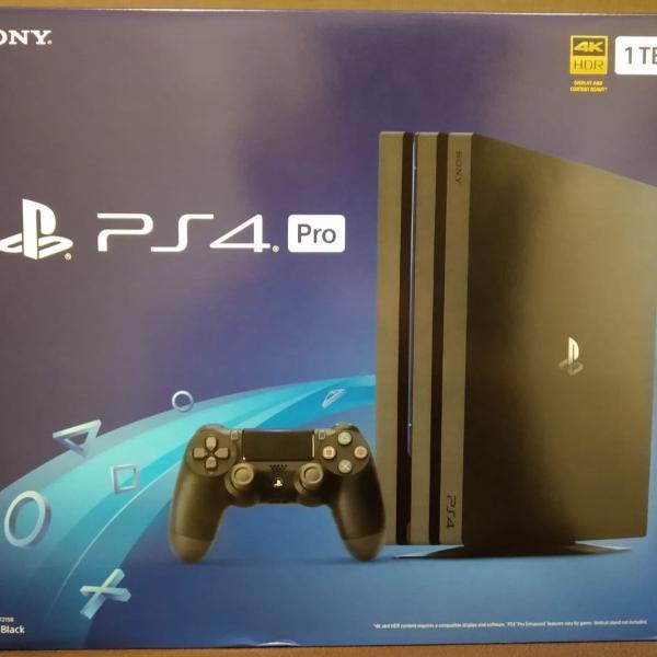 Playstation ps4 pro 1tb 4k sony