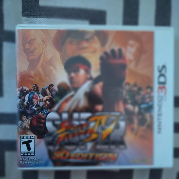 Super street fighter 4 - nintendo 3ds