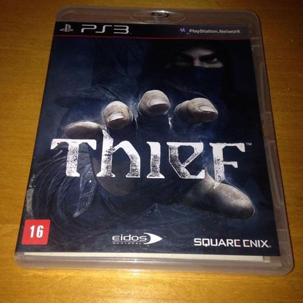 Thief semi novo mídia física ps3 playstation 3 raro r$99