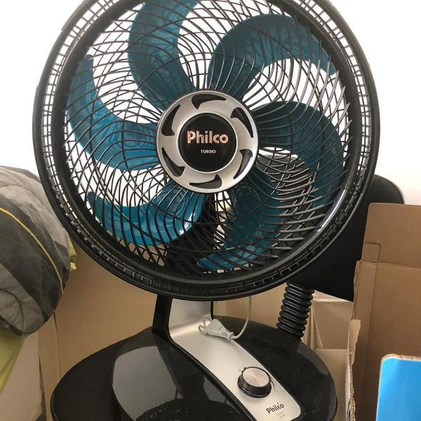 ventilador philco turbo pvt400, 155w