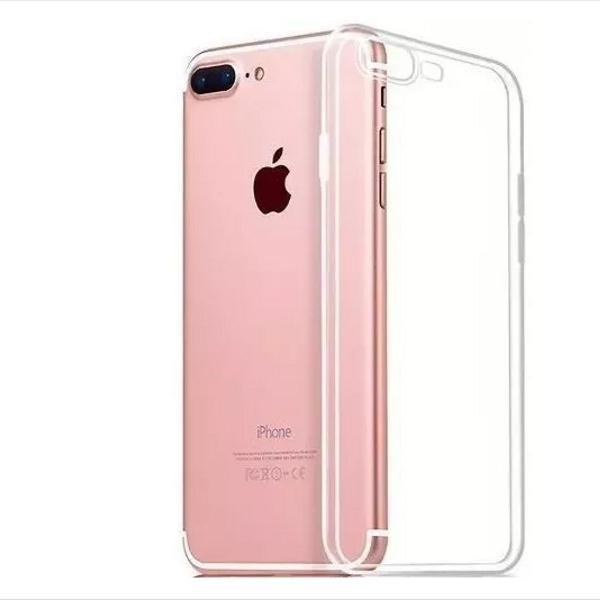 2 capinha capa fina p/ iphone 5 6 7