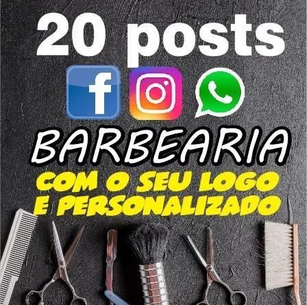 20 posts babearia,facebook/instagram/whatsspp, personalizado