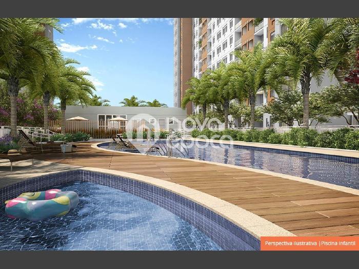 Anil, 2 quartos, 1 vaga, 55 m² Estrada do Engenho D'Agua,