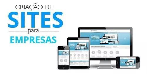 Criação de site e lojas virtual com hospedag