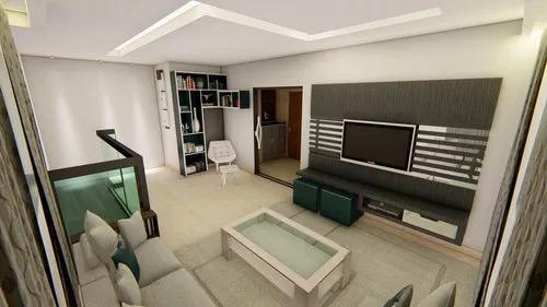 Design de interiores 3d realista
