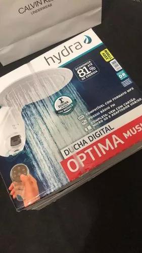Ducha digital optima music hydra