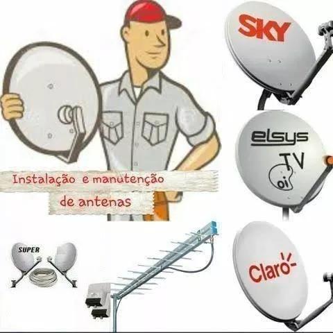 Instalação e manutenção de antenas sky claro vivo oi