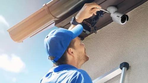 Instalação e manutenção de cftv alarmes cercas e ctrl