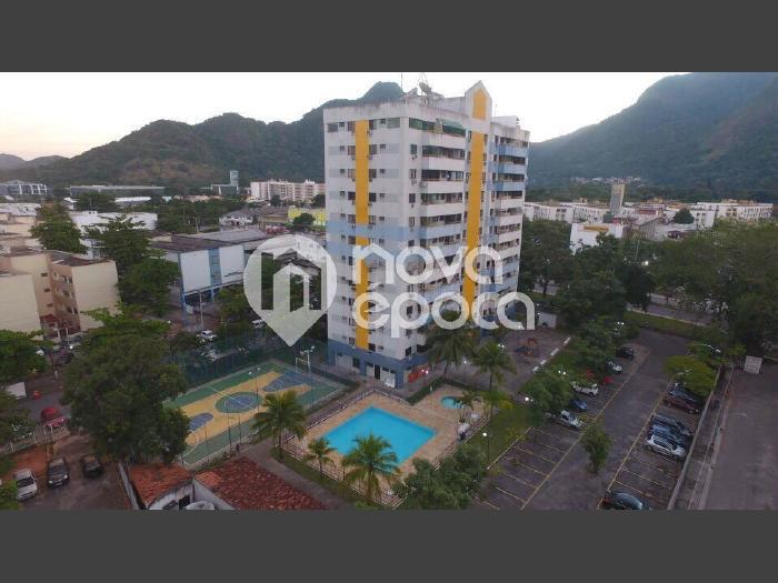 Jacarepaguá, 2 quartos, 1 vaga, 60 m² Estrada dos