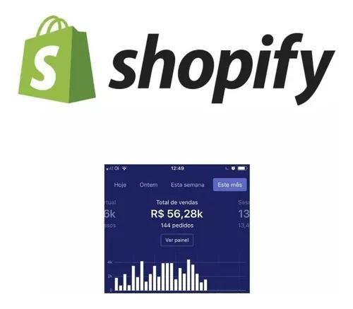 Loja shopify profissional dropshipping alta conversão r$297