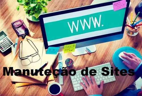 Manutenção de sites e lojas virtuais