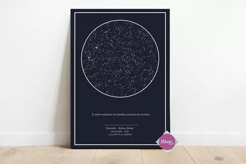 Mapa do céu - arte digital