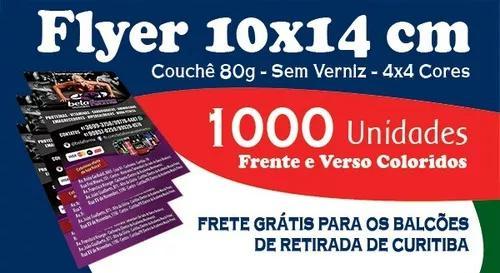 Panfletos 10x14 cm - couchê 80g - s